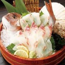 北海道素材にこだわった本格海鮮料理