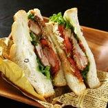 サンドイッチはテイクアウトOK!