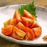 高知県で有名なフルティカルトマト 甘みもあり、お口直しに!