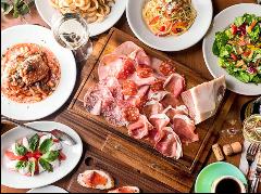イタリアンをベースにお客様のご要望にお応えします