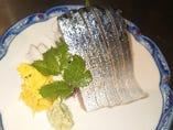 刺身 〆鯖