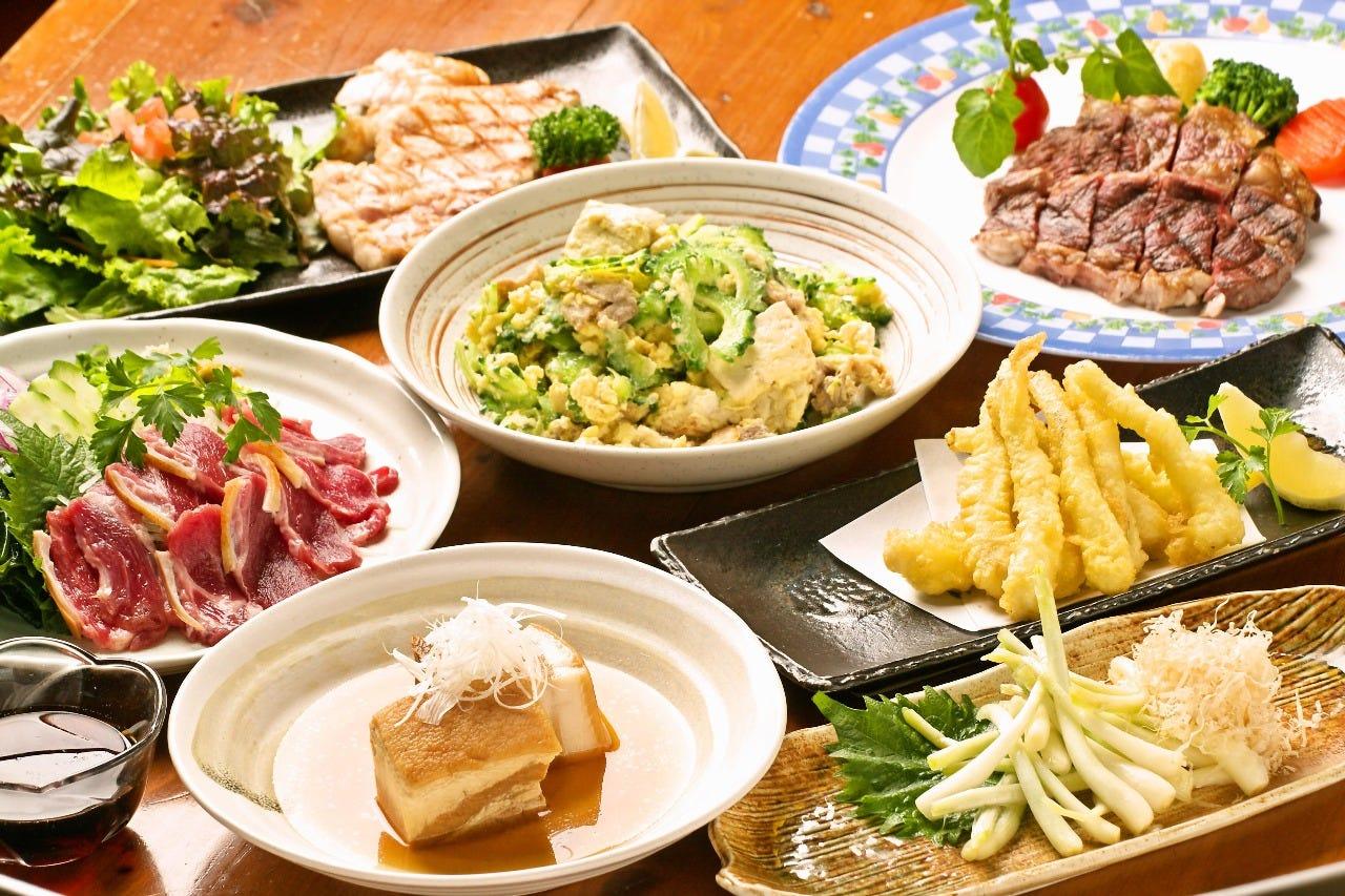 地元沖縄人が作る美味沖縄料理
