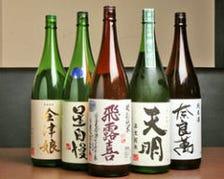 会津地酒揃ってます!