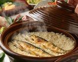 土鍋で炊き上げた各種土鍋ご飯が人気!焼き鯖飯は絶品です