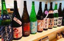 選び抜かれた日本酒、焼酎!