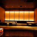 和モダンなお座敷完全個室は最大で14名様までご利用いただけます