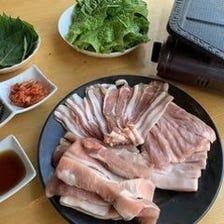 サムギョプサル食べ放題1980円税別