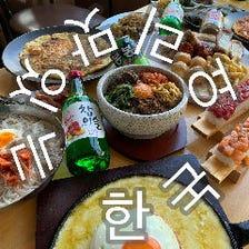 コース料理は+1000円で飲み放題に♪