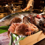 ≪こだわりの食材≫産地直送の新鮮な魚介がたっぷり