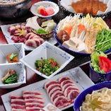 鍋・焼とも追加オプションも多数あり。お気に召しましたらさらにもう一皿!