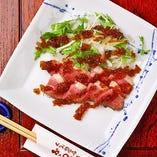 季節の食材と組み合わせた「本日の鴨料理」を召し上がれ!