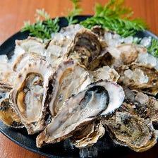 濃厚な甘みの厚岸産「牡蠣」