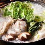 牡蠣のエキスがたまらない!牡蠣鍋宴会コース 言わずもがな大人気です!