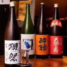 魚にはやっぱり日本酒でしょ!!