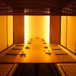 【小規模向け掘りごたつ個室】8~10名席 個室居酒屋 とり縁
