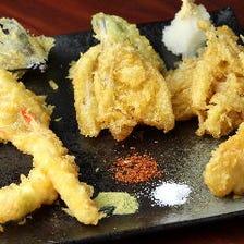 天ぷら7種盛り