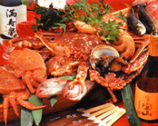 富山湾の魚介類が食べられるお店です