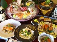 各種宴会コース5500円~  プラス1650円で2時間飲み放題