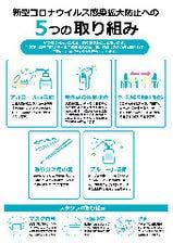 新型コロナウイルス対策のお知らせ