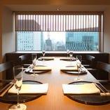6名様対応完全個室。 各種ご会合や商談などに。