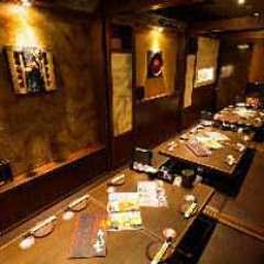 個室空間 湯葉豆腐料理 千年の宴 甲府南口駅前店 店内の画像
