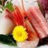 本日のおすすめの魚の三点盛り