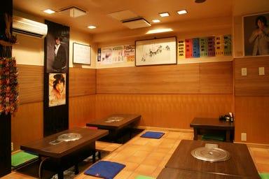 本場韓国家庭料理 柳  店内の画像