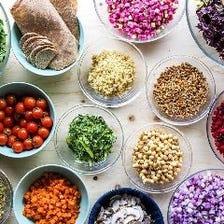 サラダビュッフェ Salad Buffet 90min