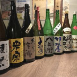 厳選日本酒の数々を飲み放題でくらべ飲み