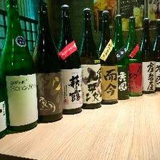 各種都道府県の日本酒