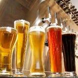 【クラフトビール】 常時12種取り揃えております