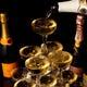 シャンパンタワーも無料で貸出!記念日、お祝い事に!