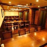 【48名様】当店最大人数収容のテーブル個室(12名様×4)