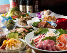 沖縄料理!!得々コース4000円〜