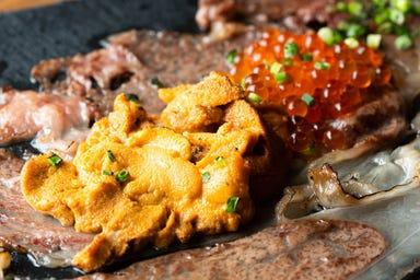 極上肉・熟成肉×大粒濃厚うに お肉バル うに(和) メニューの画像