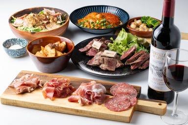 極上肉・熟成肉×大粒濃厚うに お肉バル うに(和) コースの画像