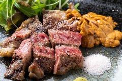極上肉・熟成肉×大粒濃厚うに お肉バル うに(和)