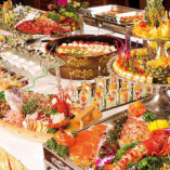 人気の立食・ビュッフェスタイル※料理盛り付けは一例です。