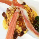 蟹オムライス