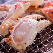 当店自慢の豊富な蟹料理をご堪能