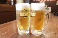 生中¥280・黒霧島(ボトル)¥2,800