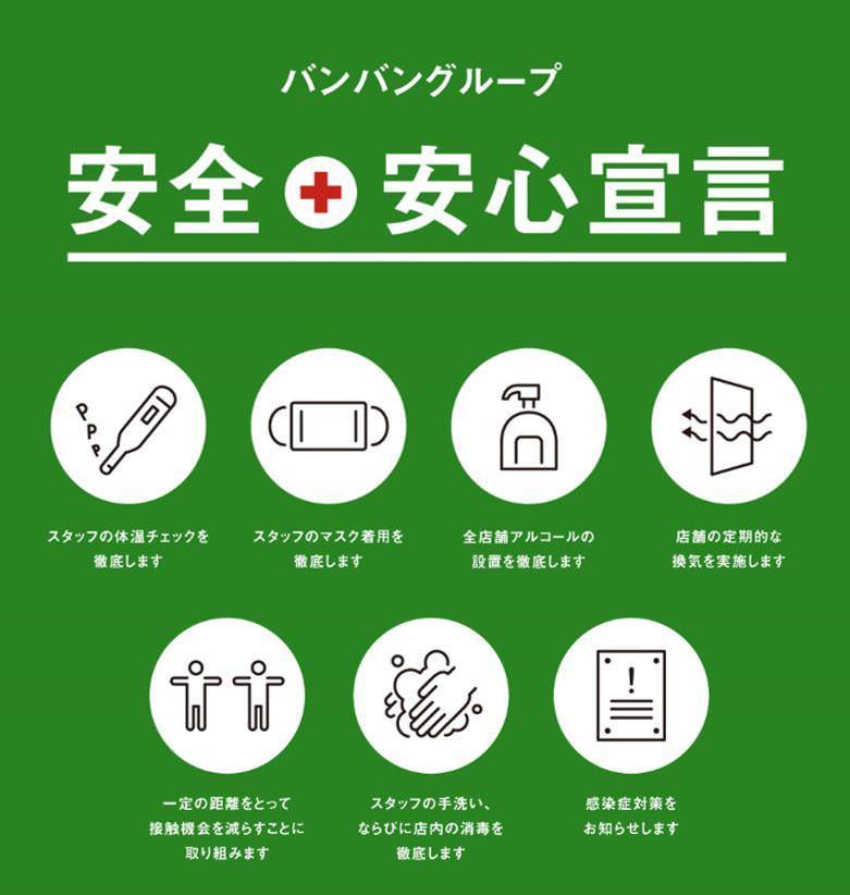 新型ウィルス感染拡大防止の取り組み