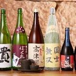 週ごとに変わる日本酒は5種類一合850円~