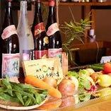 お野菜も沖縄県産や全国の旬野菜を中心に!