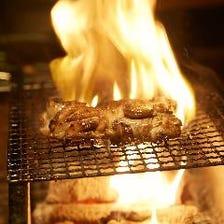 名物!鶏の一夜干し炭火焼き