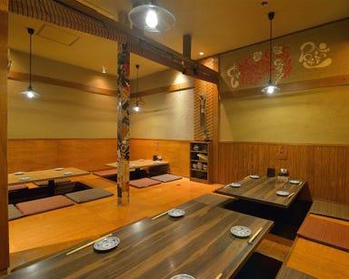 炭焼きと天ぷら 陽なの 東岡崎 店内の画像