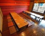 趣のある町屋空間で宴! 貸切で一体感のあるご宴会になります。