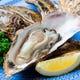 厚岸産の牡蠣は身が大きく味が濃厚。