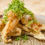 その四 「地魚の天ぷらネギ醤油」