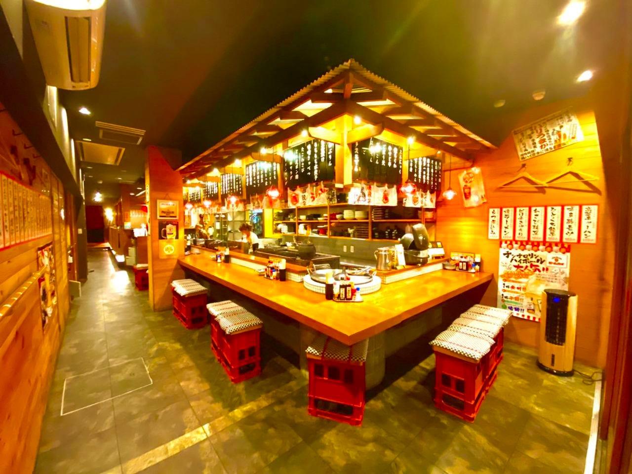 ◆博多屋台がテーマの大衆酒場